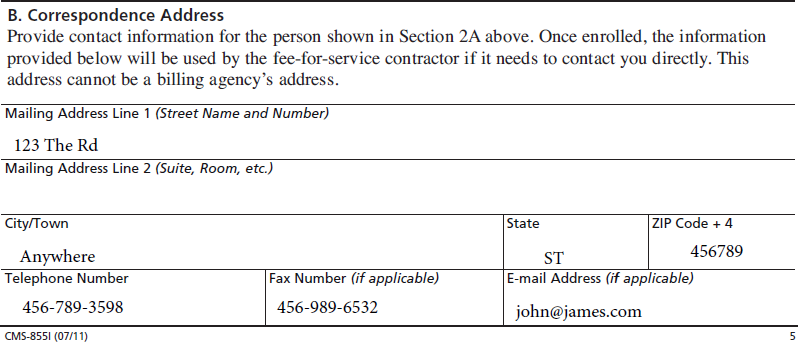 855I section 2B